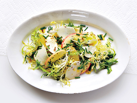 Kohlrabi and Apple Salad with Caraway
