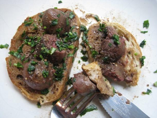 Sunday Brunch: Deviled Kidneys on Toast