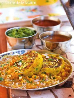 Ragda Patties ( Gujarati Recipe )