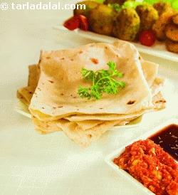 Rumali Roti (kebabs and Tikkis Recipe)