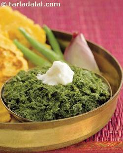 Sarson ka Saag ( Know Your Green Leafy Vegetables )