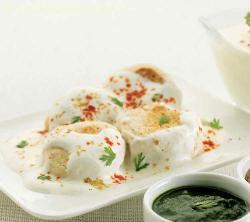 Dahi Vada ( Fast Foods Made Healthy Recipe)