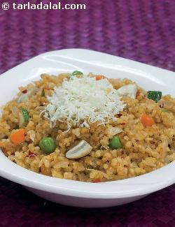 Spicy Vegetable Risotto