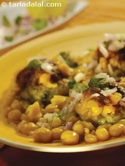 Ragda Pattice ( Know Your Dals and Pulses )
