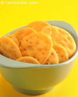 Baked Papdi ( Microwave Recipe)