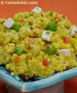 Vitamin Khichdi ( Protein Rich Recipe )