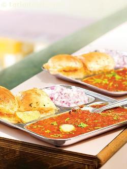 Pav Bhaji ( Pressure Cooking )
