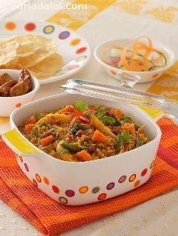 Bisi Bele Bhaat ( Pressure Cooker )