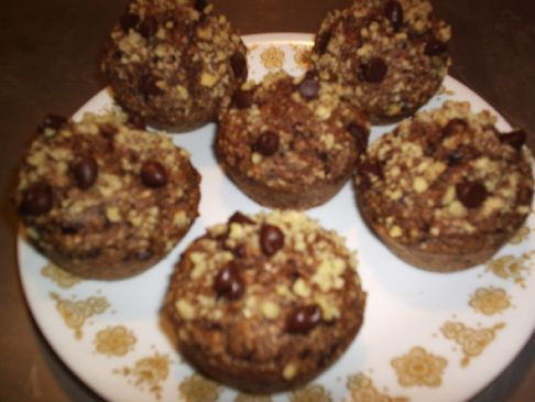 Whole Wheat Oat Bran Muffins