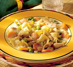 Hearty Midwestern Chicken and Noodles