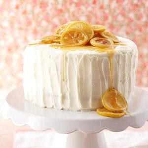 Triple-Layer Lemon Cake