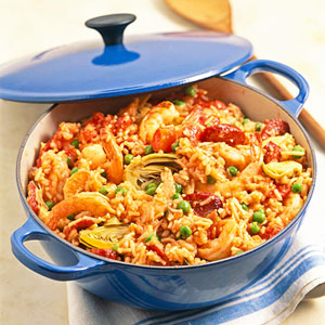 Quick Shrimp Paella
