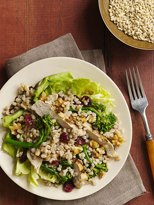Chicken & Barley Salad