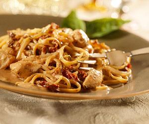 Creamy Chicken and Tomato Pasta