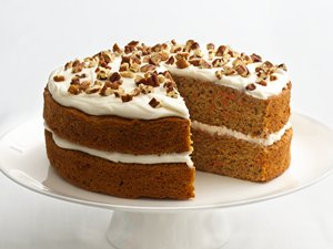 """Healthified"" Carrot Cake"