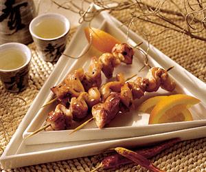 Oriental Chicken Kabobs