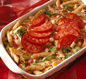 Cheesy Chicken and Mostaccioli