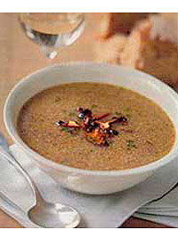 Exotic Mushroom Soup