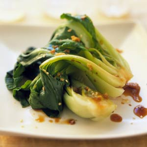 Pan-Fried Baby Bok Choy
