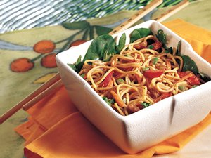 Peanut Noodle Salad