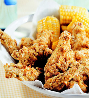 Crunchy Chicken Fingers