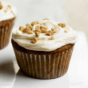 Cream Soda Toffee Cupcakes