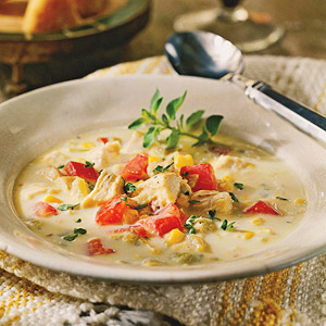 Tex-Mex Chicken and Corn Soup