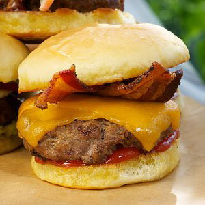 Bacon Cheddar Sliders