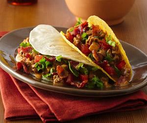 Amazing Bacon Cheeseburger Tacos