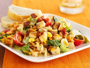 Grilled Honey Mustard Chicken Salad