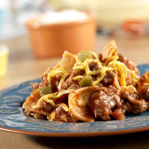 Beefy Enchilada Skillet