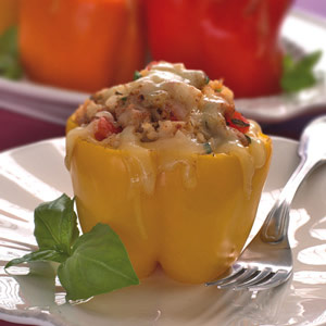 Smoky Stuffed Peppers