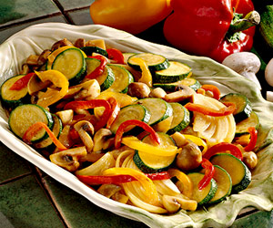 Peppers and Zucchini
