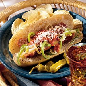 Italian Pizza Sandwiches