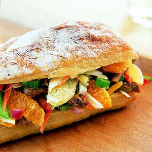 Pork Salad Sandwiches