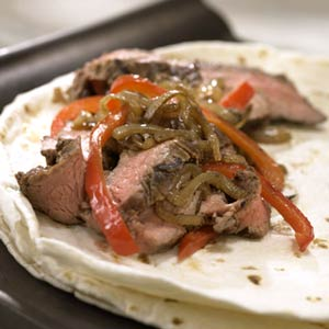 Steak with Onion Relish