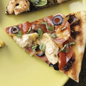 Gourmet Off-the-Shelf Grilled Pizza