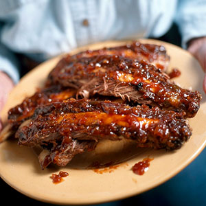 Grilled Texas-Style Beef Ribs