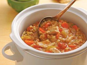 Slow Cooker Chicken-Barley Stew