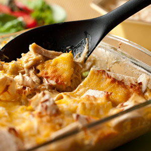 Slow Cooker Cheesy Chicken and Tortillas