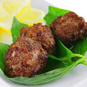 Savory Meatballs