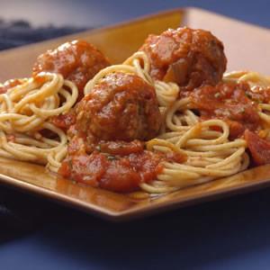 Old-Fashioned Spaghetti & Meatballs