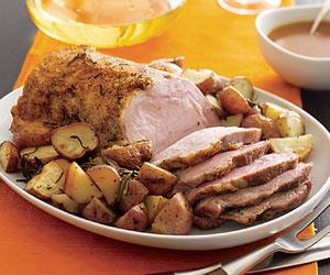 Roast Pork & Pan-roasted Potatoes