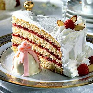 Raspberry-Almond Torte