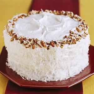 Coconut Pecan Layer Cake