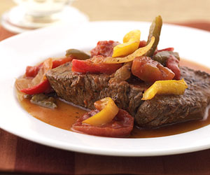 So-Easy Pepper Steak
