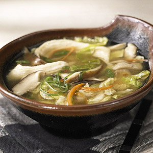 Hot-and-Sour Soup with Chicken