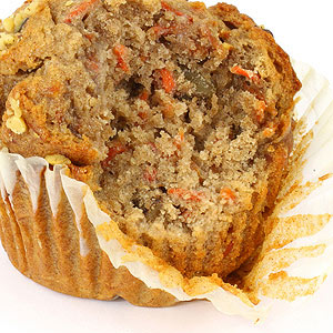 Carrot-Nut Muffins