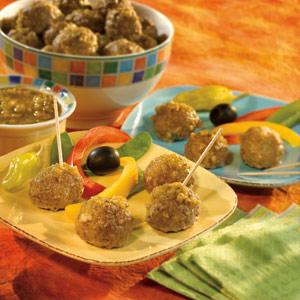 Salsa Verde Meatballs