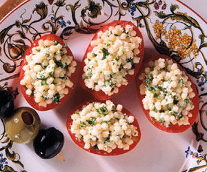Pasta-Stuffed Tomatoes
